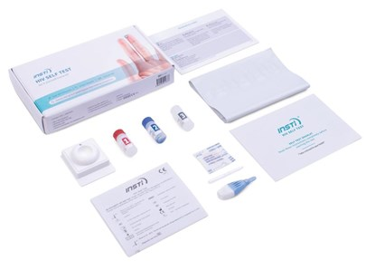 HIV Home Test Kit Contents